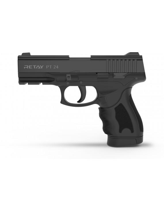 Retay PT24 Blank Pistol Black $119.95 by ClassicBlades.com